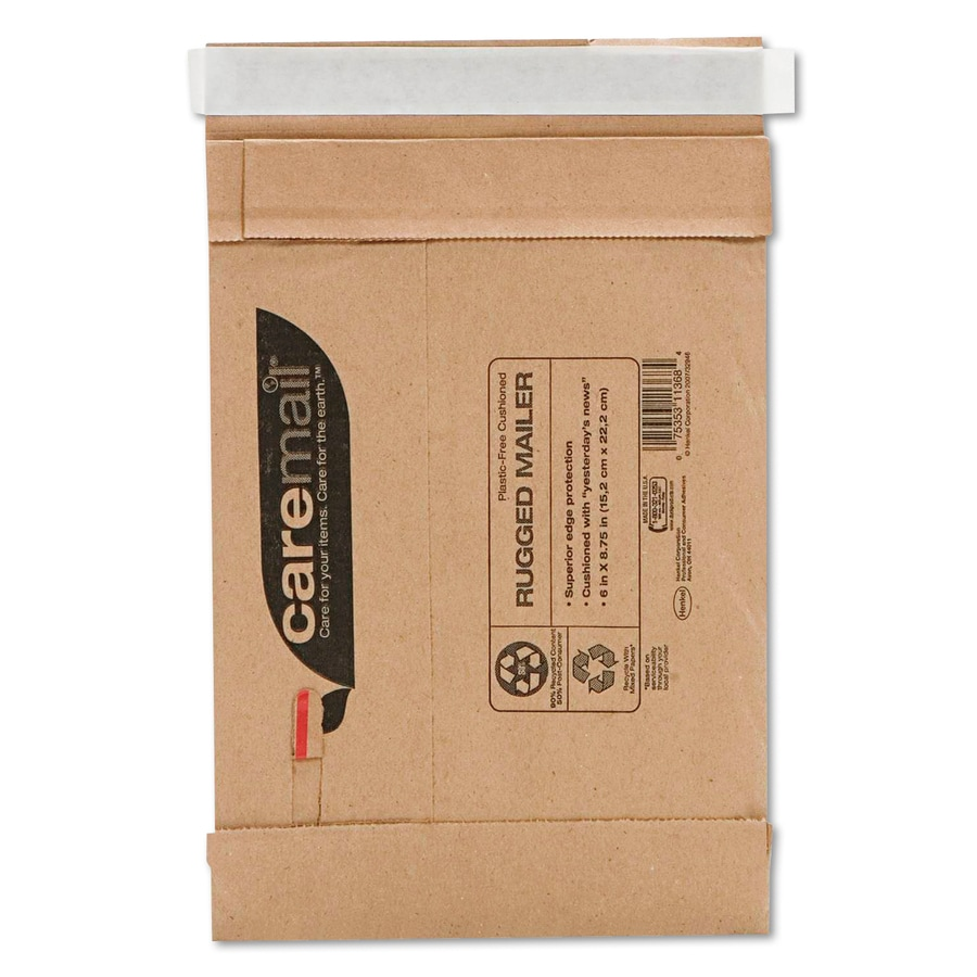 Caremail 25-Count #0 8.75-in x 6-in Padded Mailer