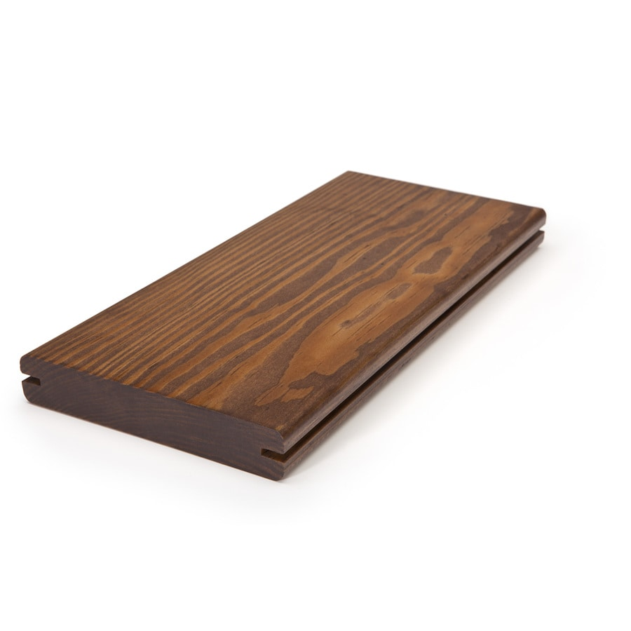 Perennial Wood 1-1/4 x 6 x 12 Mahogany Modified Wood Alternative Decking
