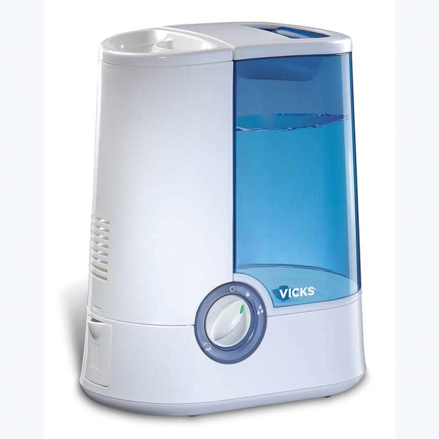 Vicks 1-Gallon Tabletop Warm Mist Humidifier At Lowes.com