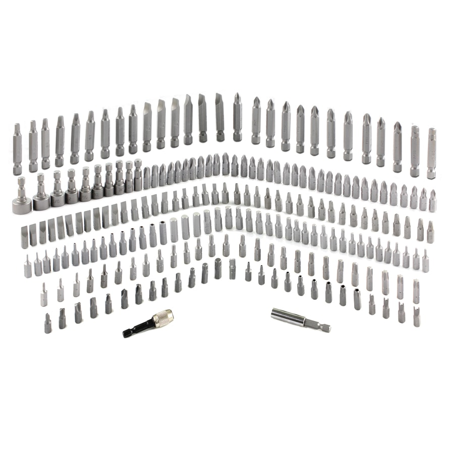 Kobalt 210-Piece Screwdriver Bit Set