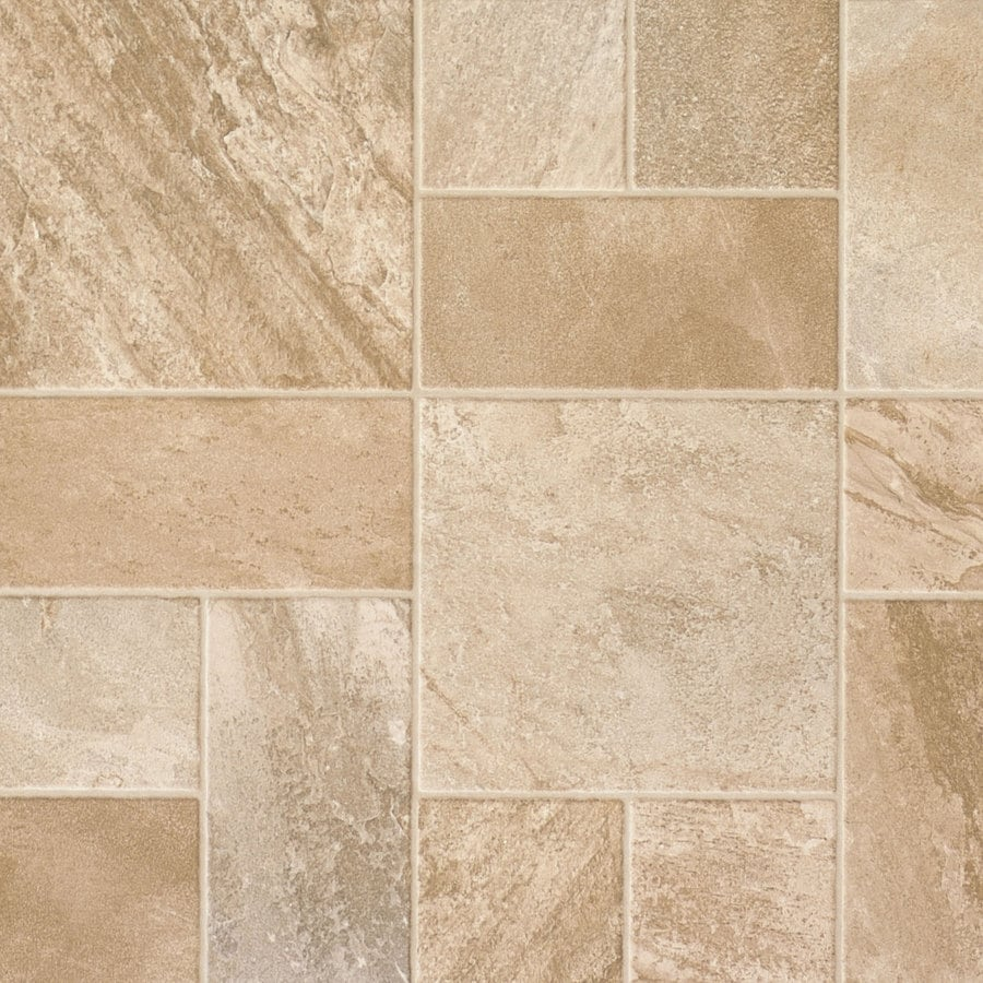 Shop Swiftlock W X L Rocky Mountain Morning Mist Tile Look Laminate Flooring At