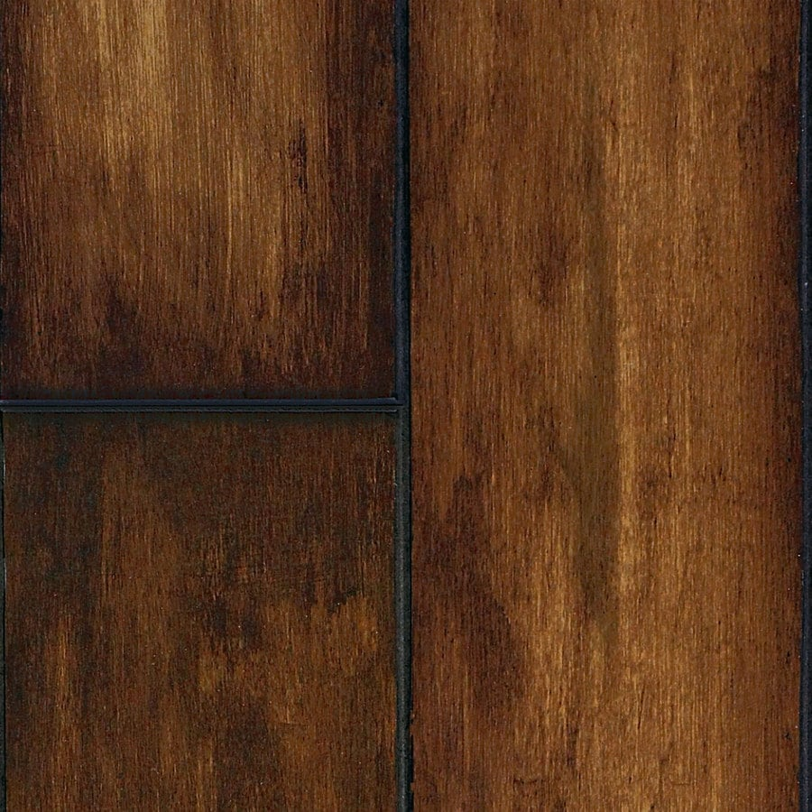 Superb SwiftLock 5.28 In W X 4.21 Ft L Hand Hewn Maple Butterscotch Wood Plank