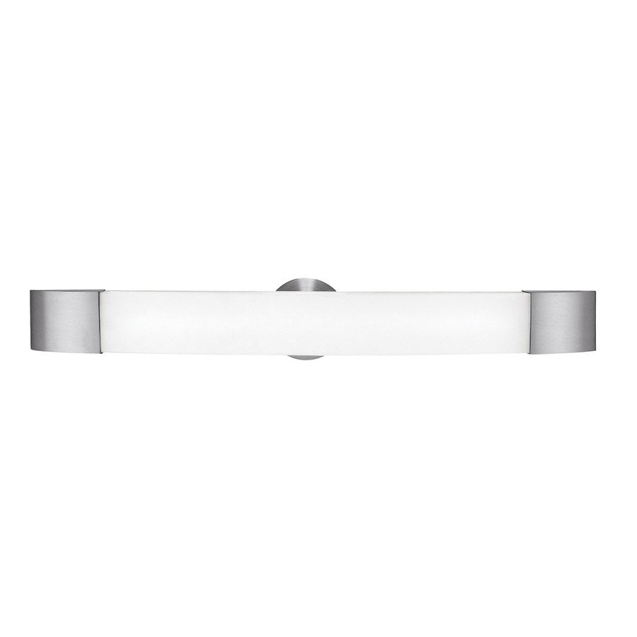 Access Lighting Aspen 29.5-in W 1-Light Brushed Steel Arm Hardwired Wall Sconce