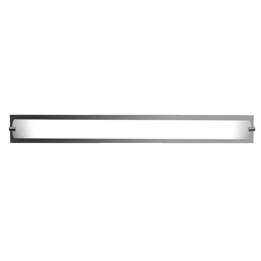 Access Lighting Geneva 36.6-in W 1-Light Chrome Pocket Wall Sconce