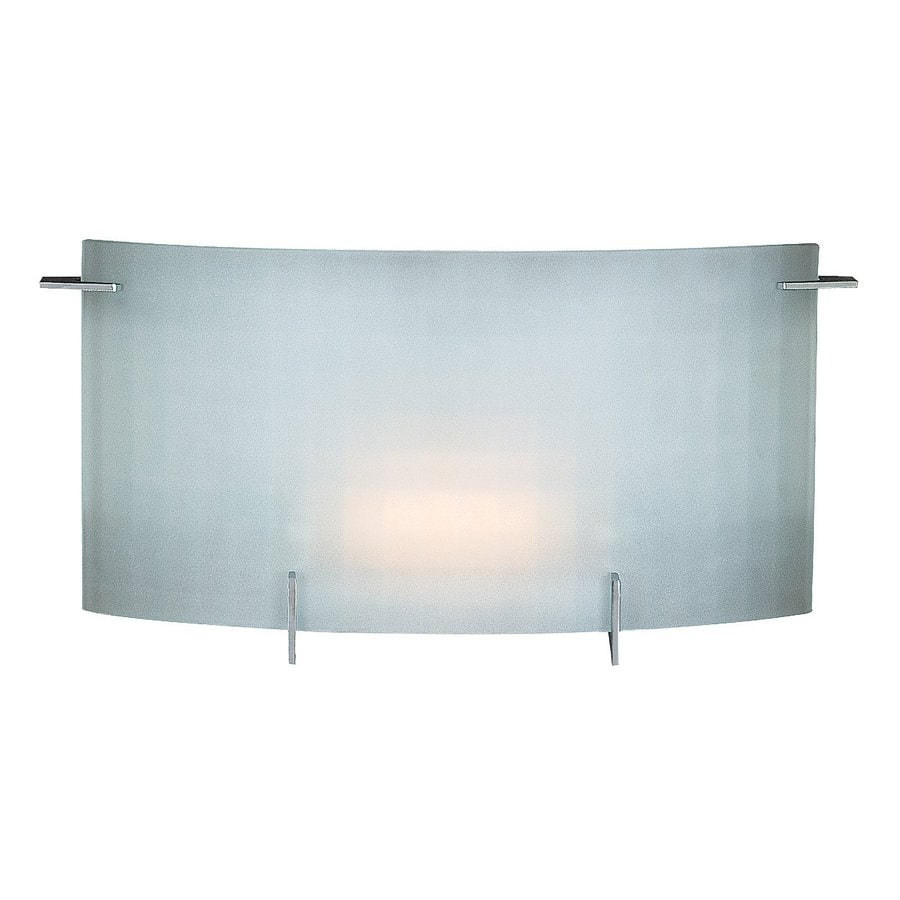 Access Lighting Oxygen 13.25-in W 1-Light Chrome Pocket Wall Sconce