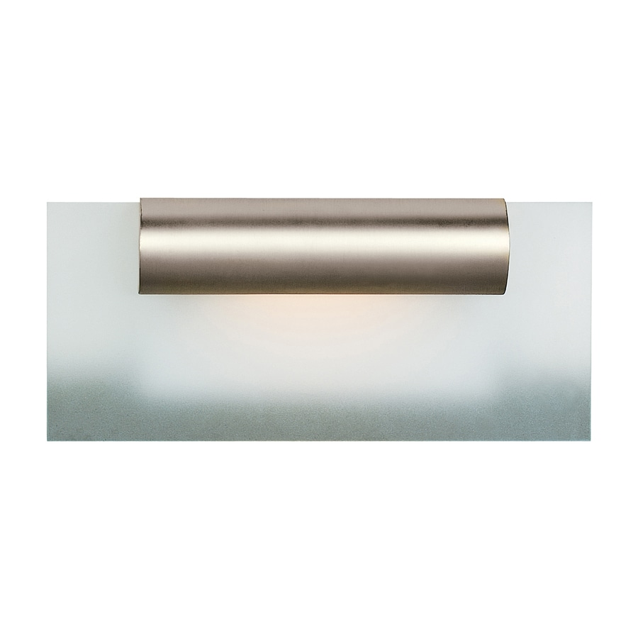 Access Lighting Roto 12-in W 1-Light Satin Chrome Pocket Wall Sconce