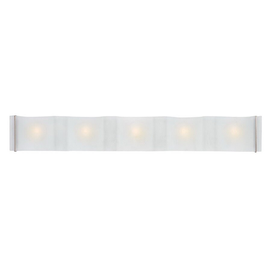 Access Lighting 5-Light Mercury Brushed Steel Bathroom Vanity Light
