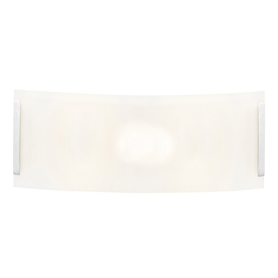 Access Lighting Neon 16-in W 1-Light Brushed Steel Pocket Hardwired Wall Sconce