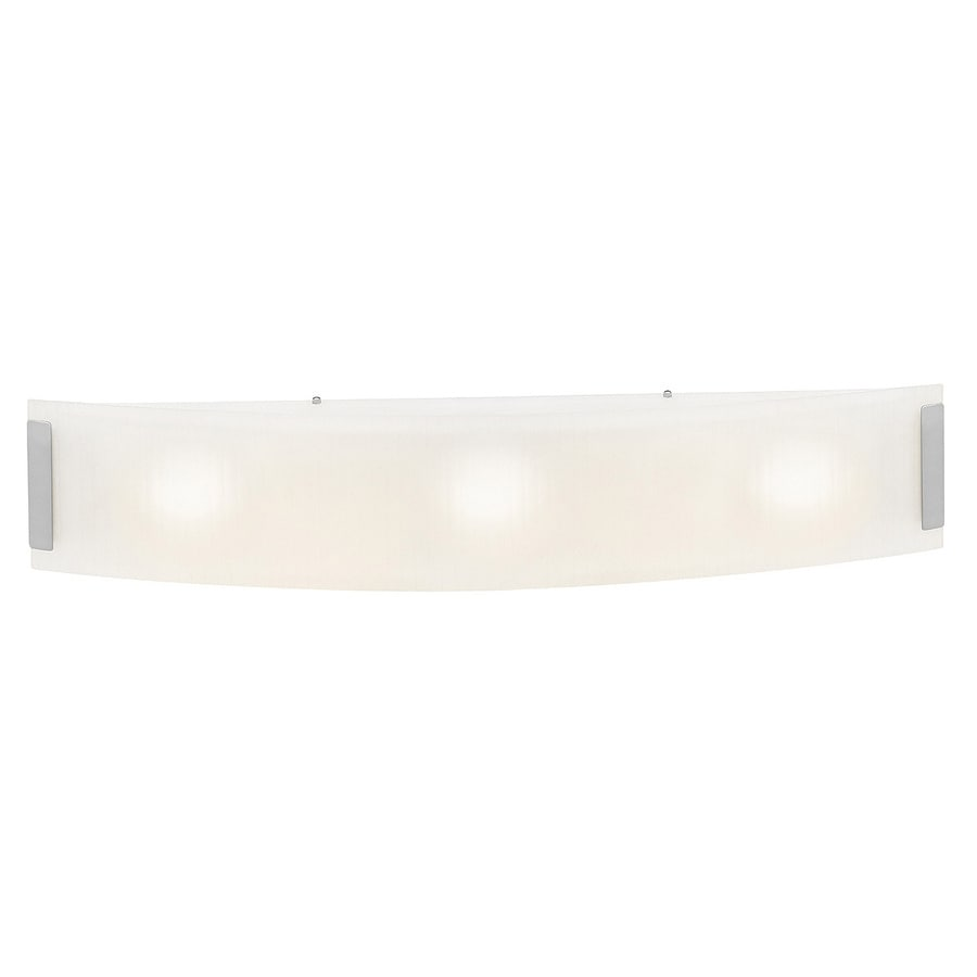 Access Lighting Neon 32-in W 1-Light Brushed steel Pocket Wall Sconce