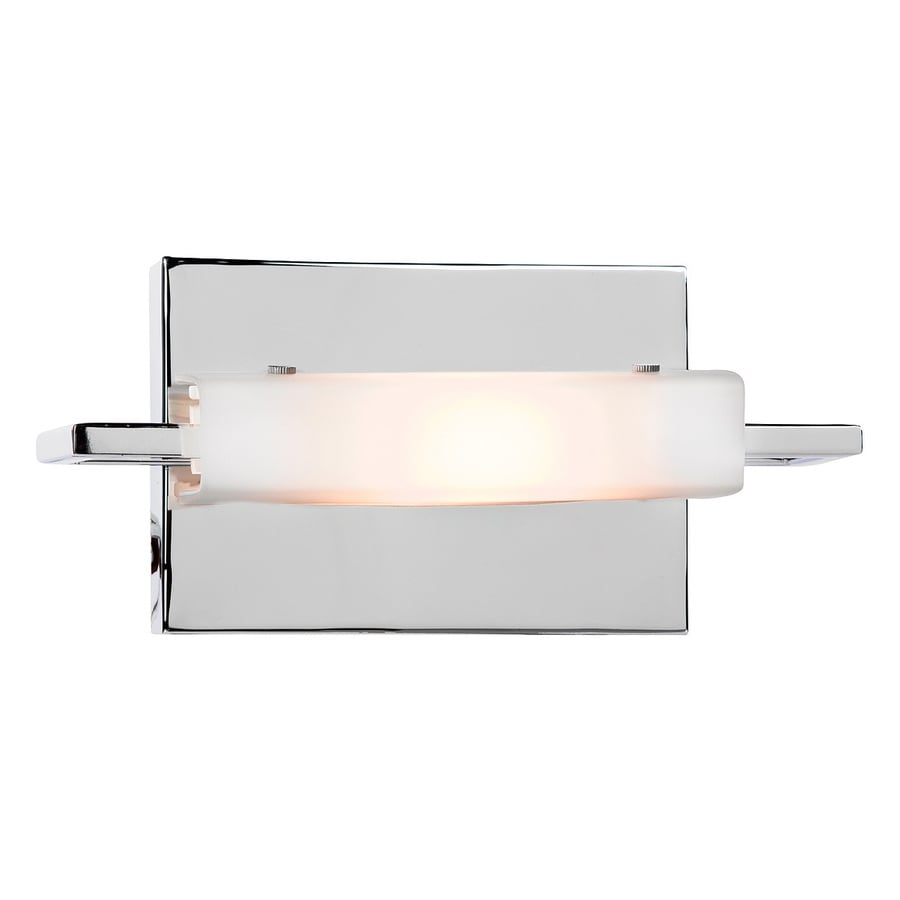 Access Lighting Styx 9.25-in W 1-Light Chrome Arm Hardwired Wall Sconce