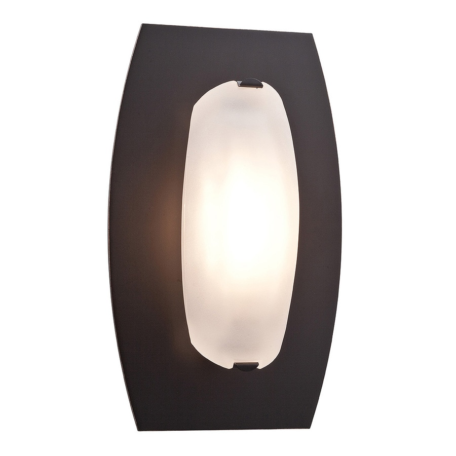 Access Lighting Nido 10-in W 1-Light Oil Rubbed Bronze Pocket Hardwired Wall Sconce