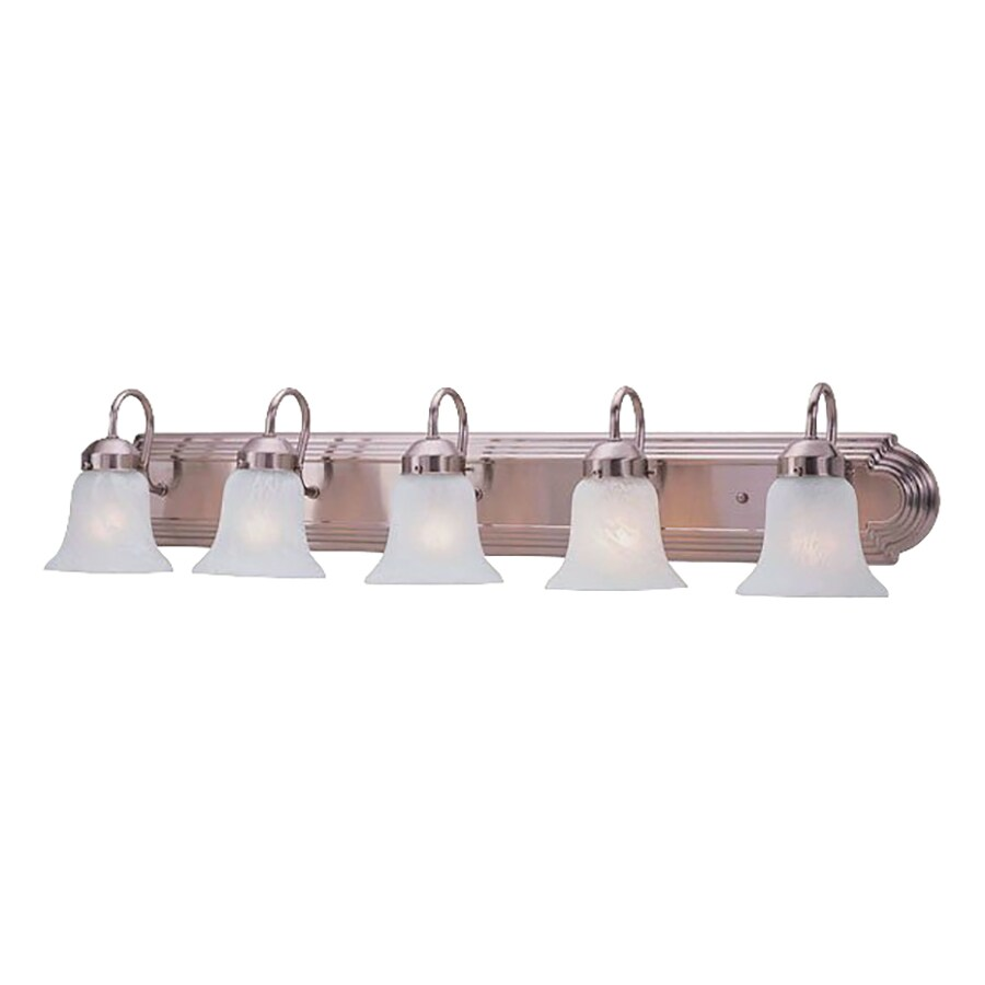 Livex Lighting Home Basics 5-Light Brushed Nickel Vanity Light
