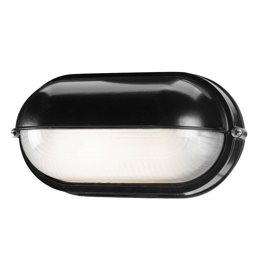 Access Lighting Nauticus 4-1/4-in Black Outdoor Wall Light