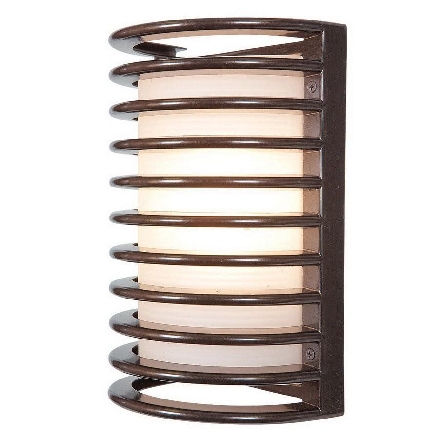 Access Lighting Poseidon 10-3/4-in Bronze Outdoor Wall Light