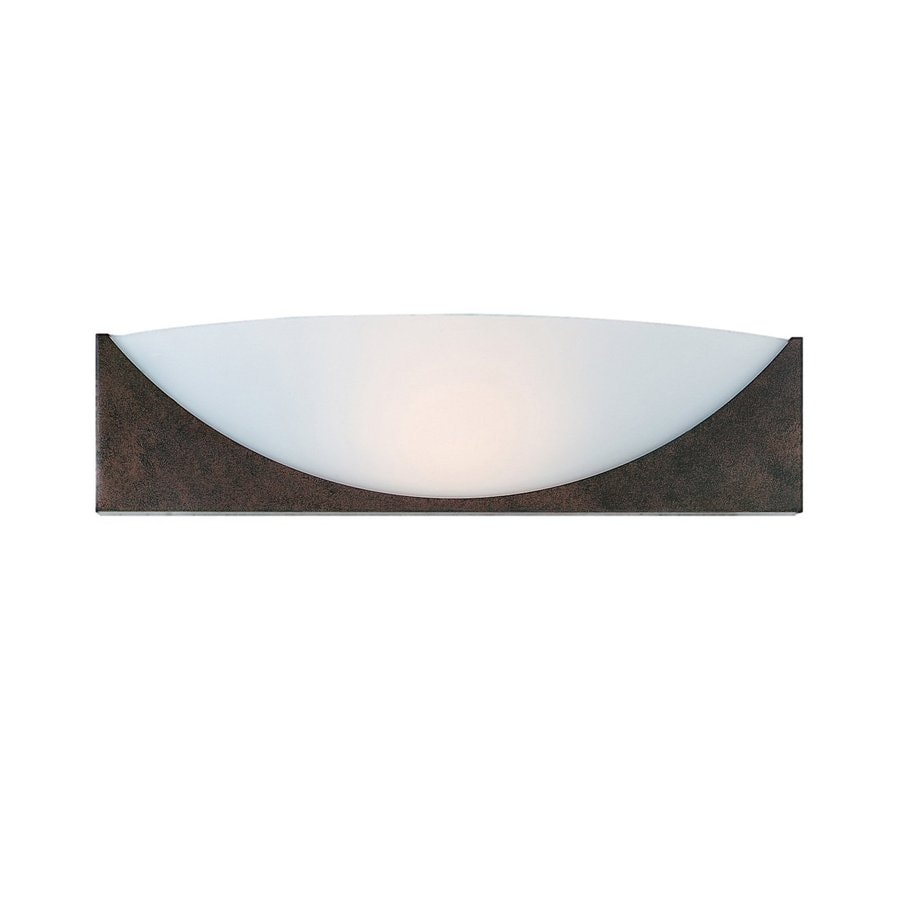 Access Lighting Thebes 16-in W 1-Light Rustic Pocket Wall Sconce