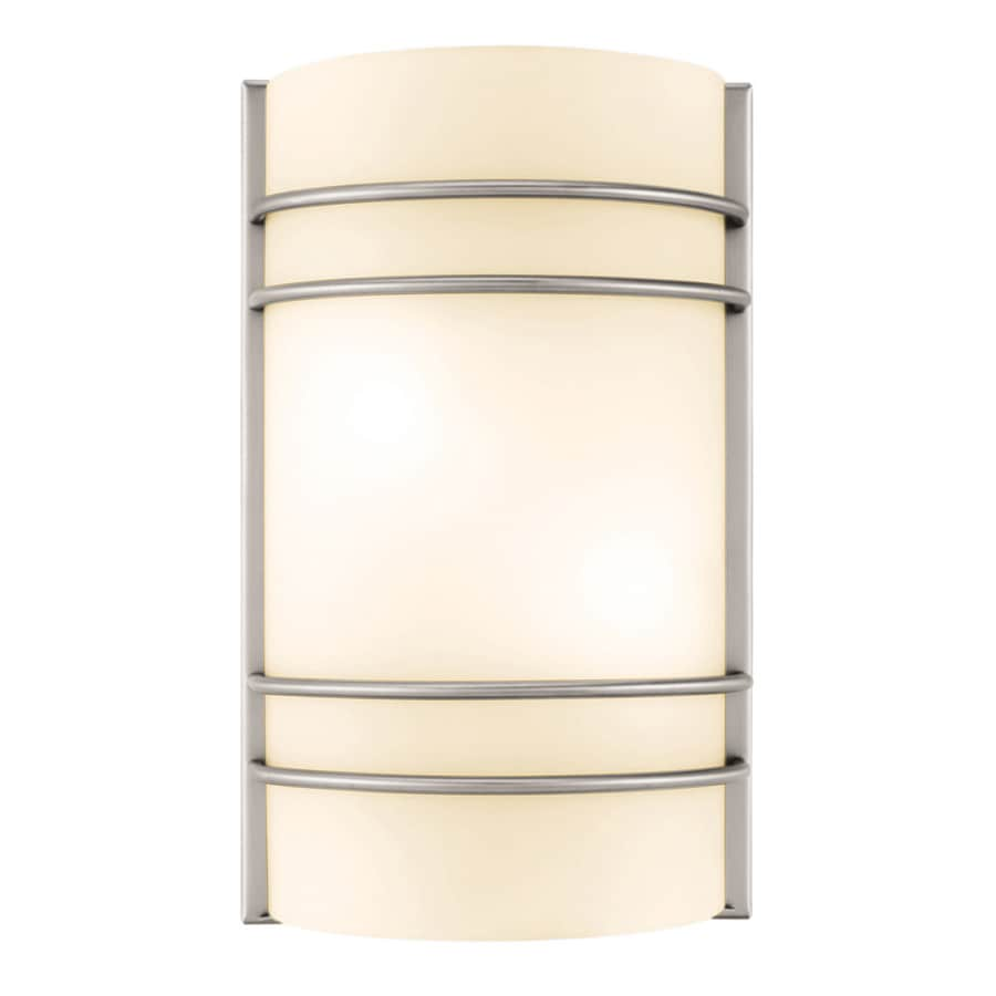 Access Lighting Artemis 7.5-in W 1-Light Brushed Steel Pocket Wall Sconce