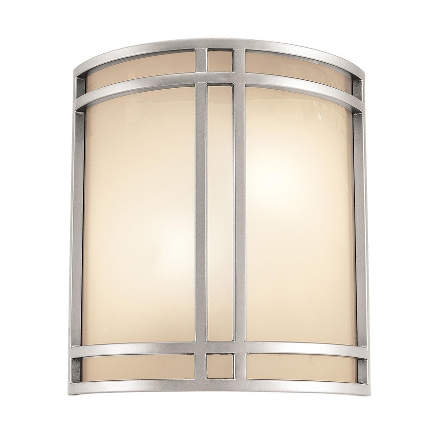 Access Lighting Artemis 11.5-in W 1-Light Satin Pocket Hardwired Wall Sconce