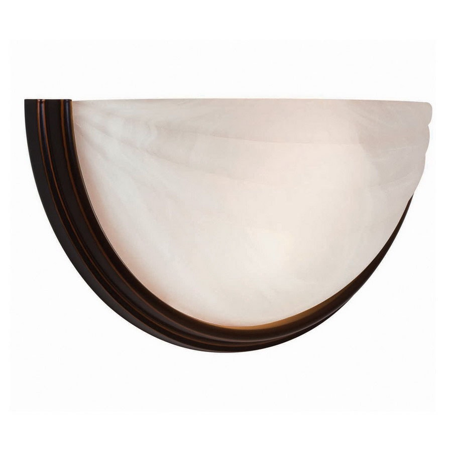 Wall Sconces Oil Rubbed Bronze : Shop Access Lighting Crest 13-in W 1-Light Oil Rubbed Bronze Pocket Wall Sconce at Lowes.com
