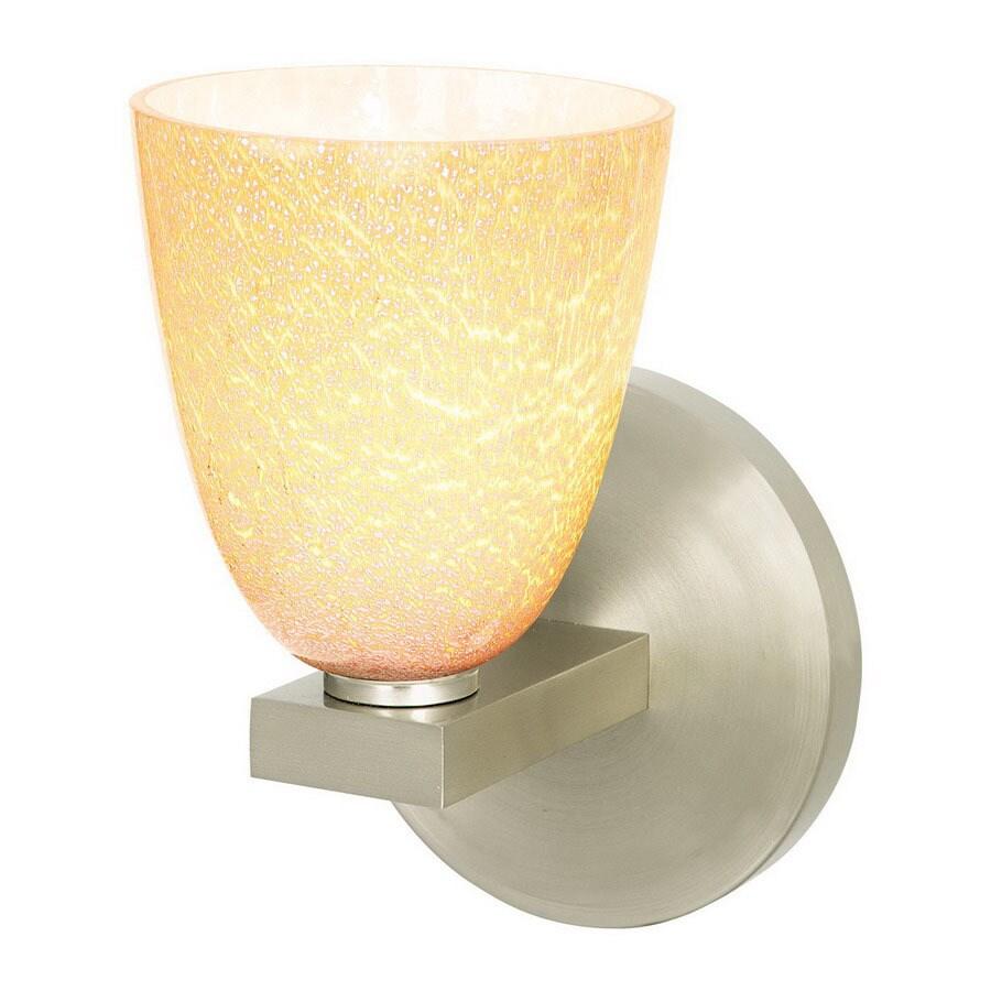 Shop Access Lighting 4-1/4-in W Safari 1-Light Brushed Steel Art ...