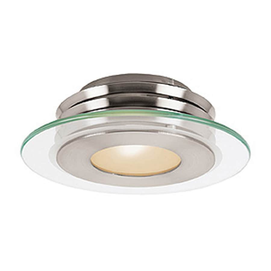 helius lighting. Access Lighting Helius 12-in W Brushed Steel Flush Mount Light O