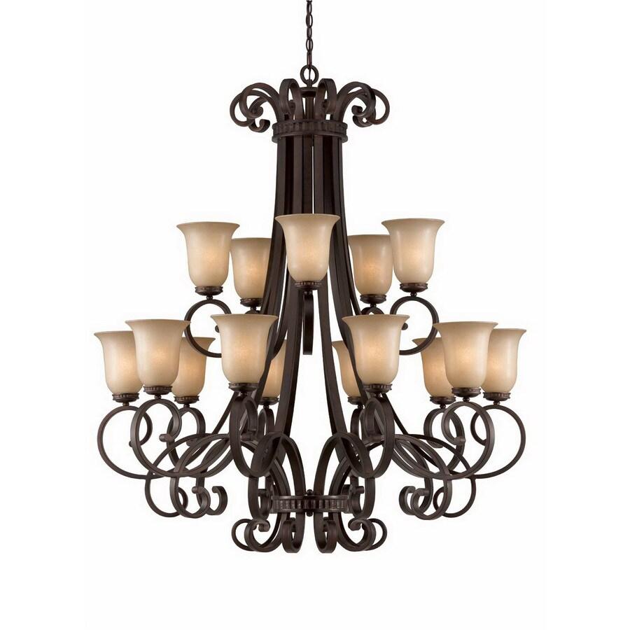 Shop triarch international corsica 15 light english bronze triarch international corsica 15 light english bronze chandelier arubaitofo Gallery