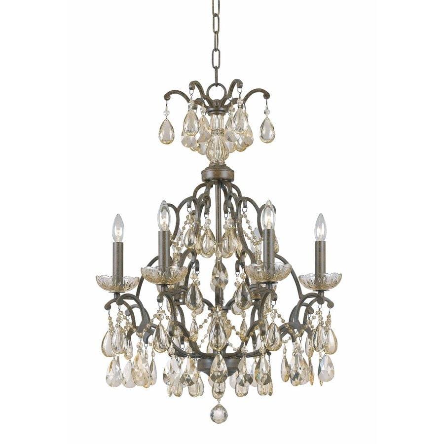 Shop triarch international versaille 6 light aged bronze crystal triarch international versaille 6 light aged bronze crystal accent chandelier arubaitofo Gallery