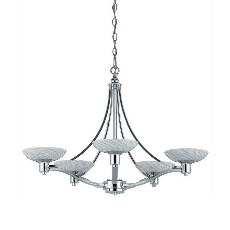 Shop triarch international 5 light halogen vii polished chrome triarch international 5 light halogen vii polished chrome chandelier arubaitofo Gallery