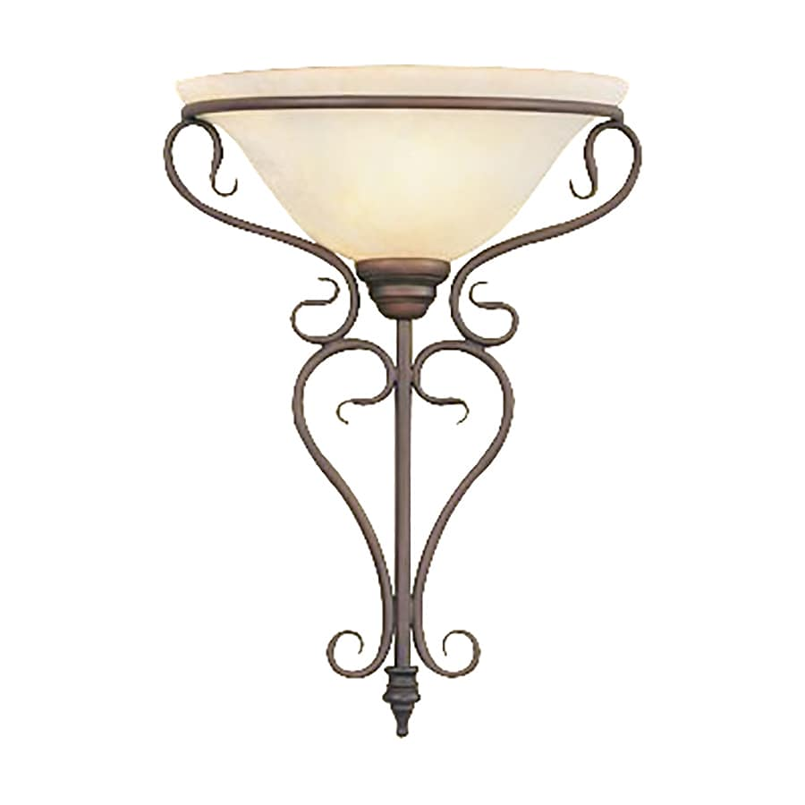 Skyrim Wall Sconces Not Working : Shop Livex Lighting Coronado 14-in W 1-Light Imperial Bronze Pocket Wall Sconce at Lowes.com