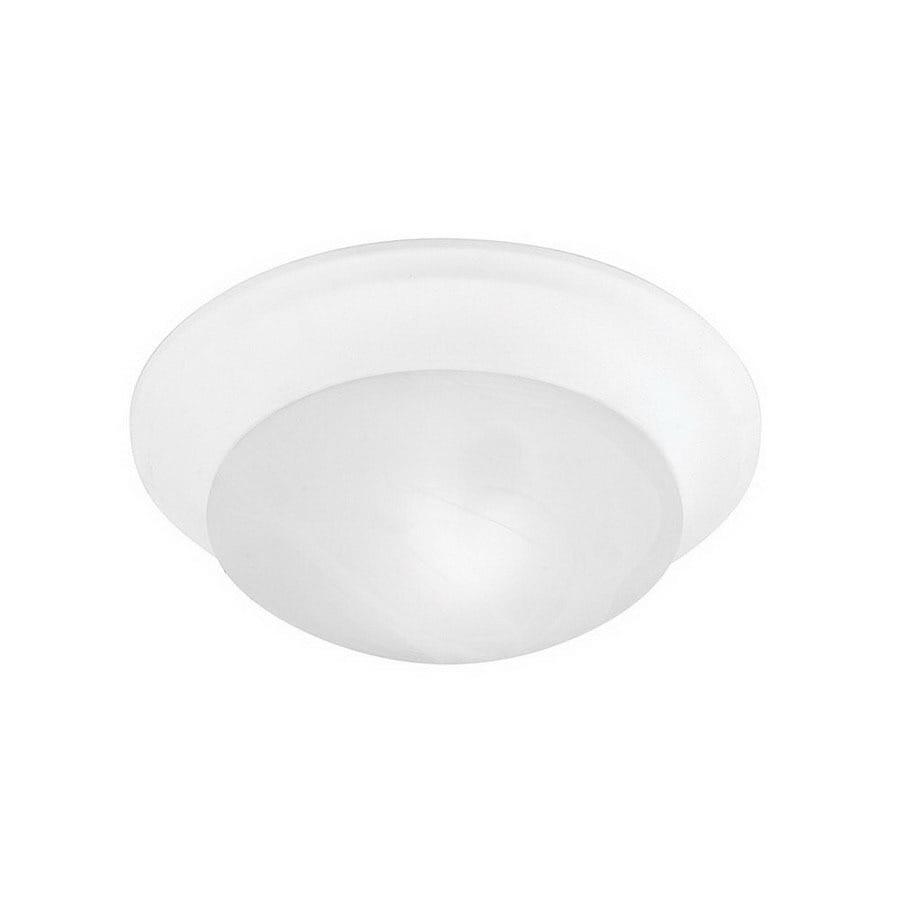 Livex Lighting 11.5-in W White Ceiling Flush Mount