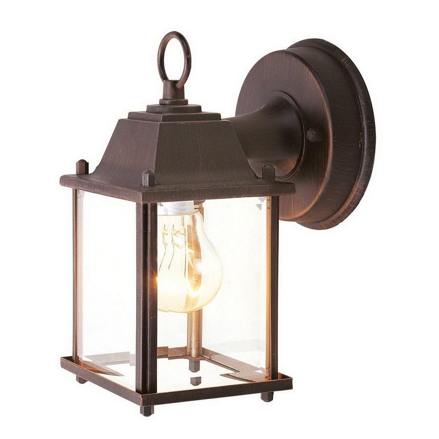 Livex Lighting Basics 8-in Imperial Bronze Outdoor Wall Light