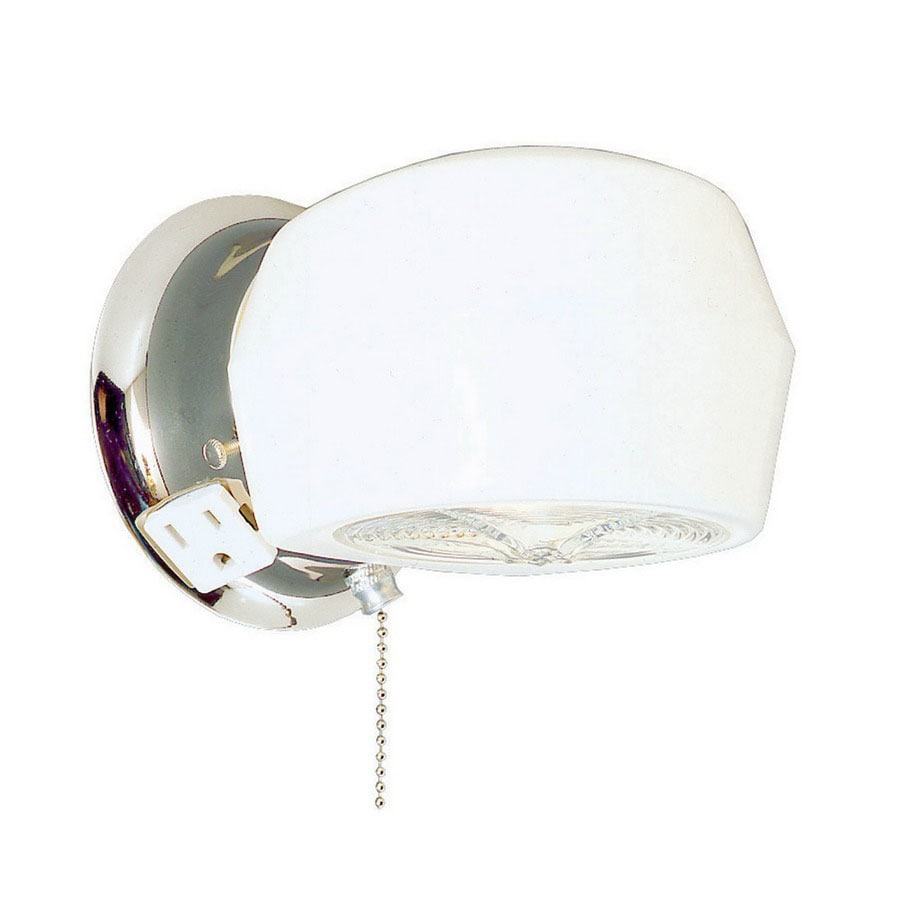 Thomas Lighting 5-in W 1-Light Chrome Arm Wall Sconce