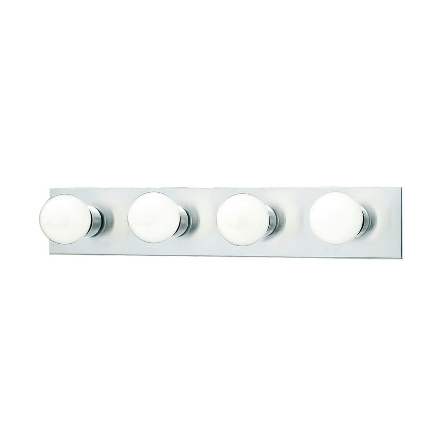 Thomas Lighting 4-Light 4.25-in Brushed Nickel Vanity Light Bar