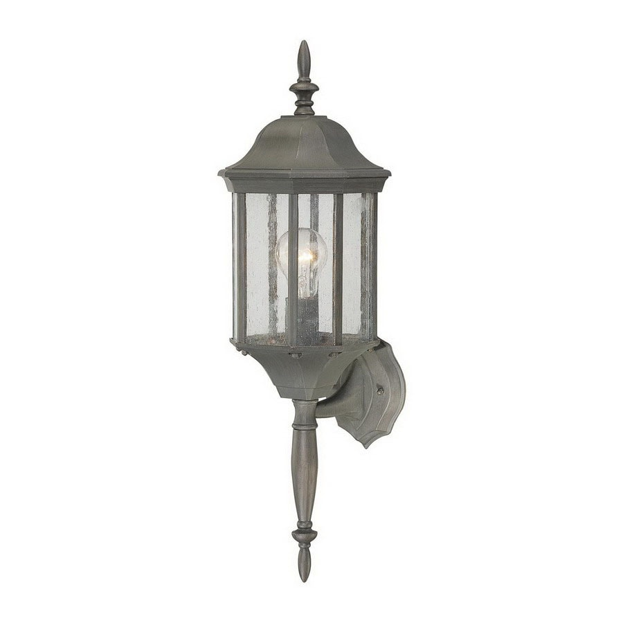 Thomas Lighting Hawthorne 26-in Painted Bronze Outdoor Wall Light
