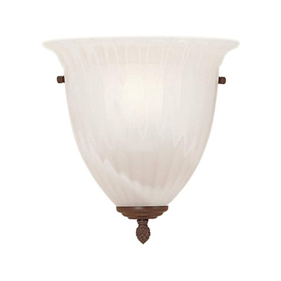 Millennium Lighting 11-in W 1-Light Pocket Hardwired Wall Sconce