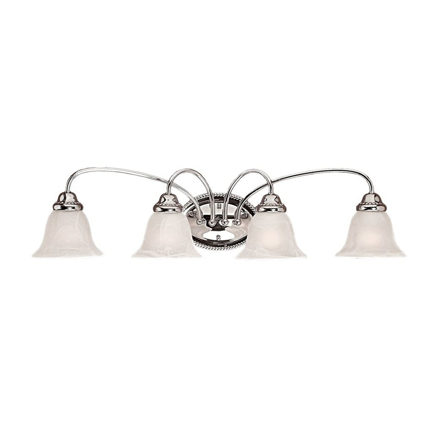 Millennium Lighting 4-Light 8.25-in Chrome Bell Vanity Light