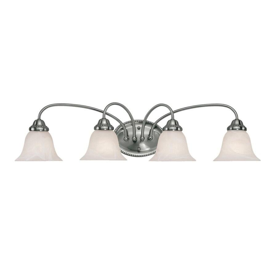Millennium Lighting 4-Light Satin Nickel Vanity Light