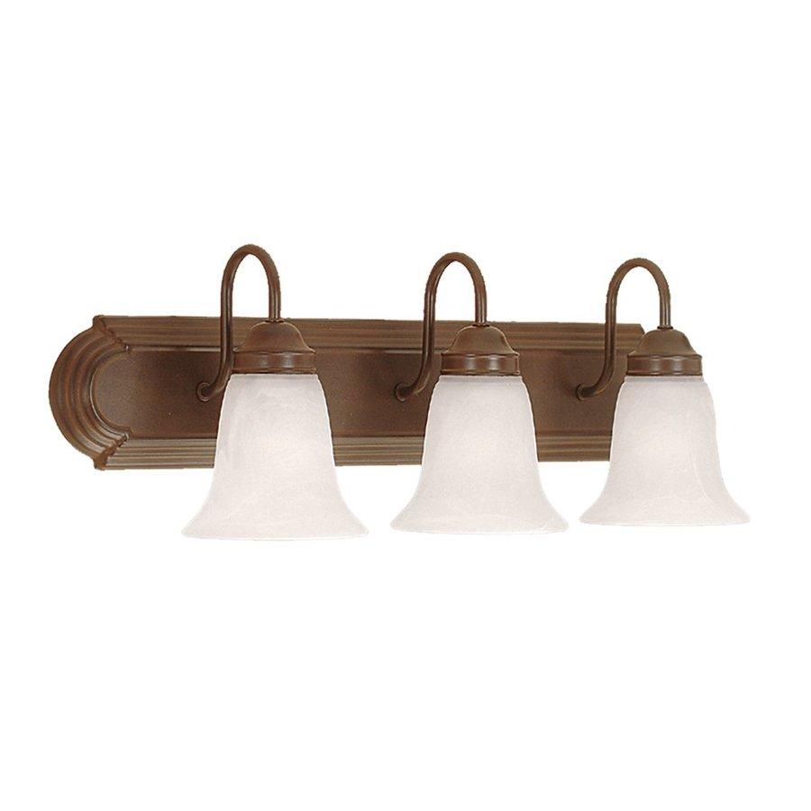 Millennium Lighting 3-Light 8.5-in Bronze Bell Vanity Light