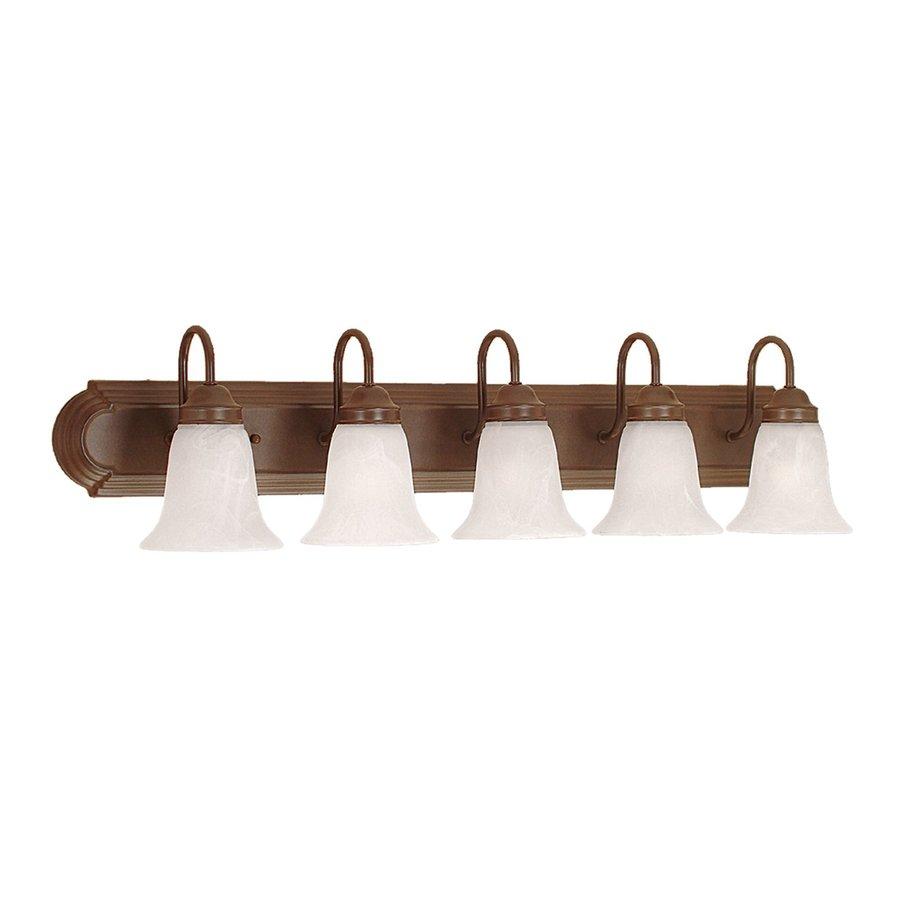 Millennium Lighting 5-Light 8.5-in Bronze Bell Vanity Light
