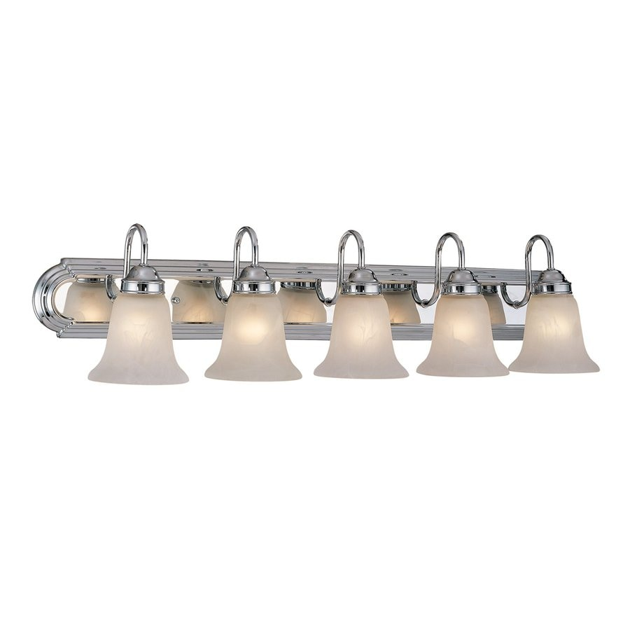 Millennium Lighting 5-Light 8.5-in Chrome Bell Vanity Light