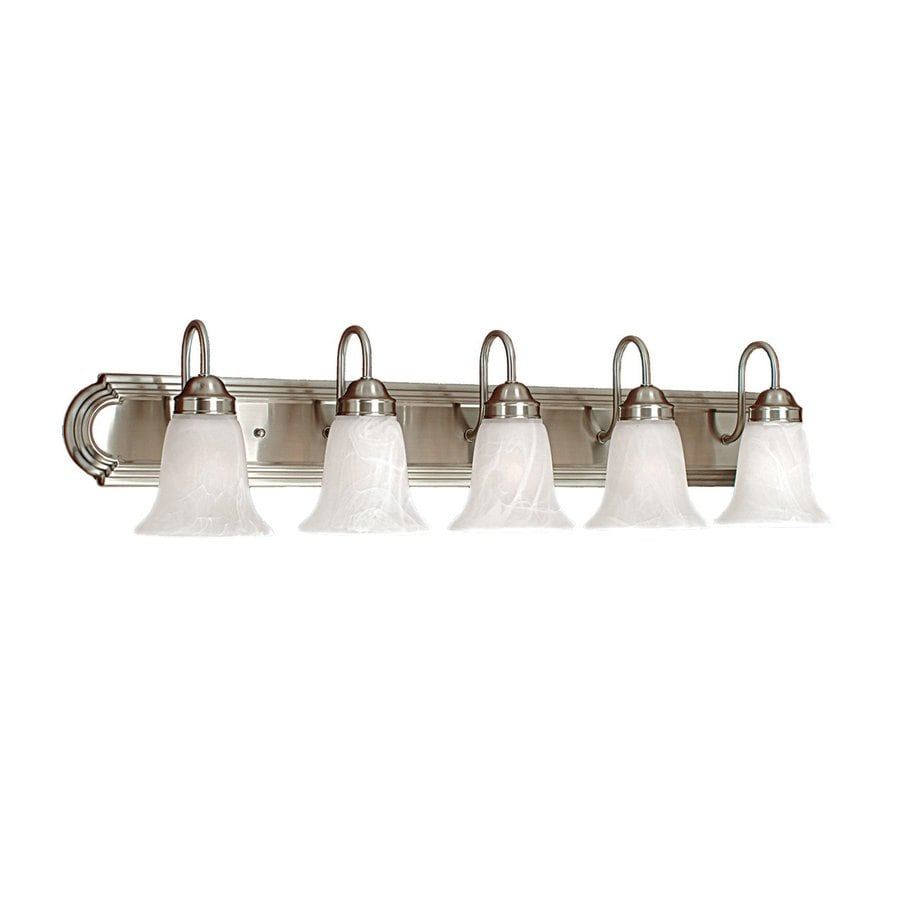 Millennium Lighting 5-Light 8.5-in Satin Nickel Bell Vanity Light