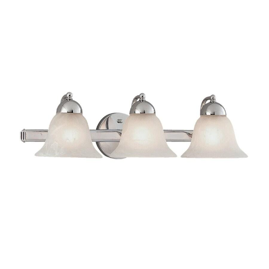 Millennium Lighting 3-Light 6.5-in Chrome Bell Vanity Light