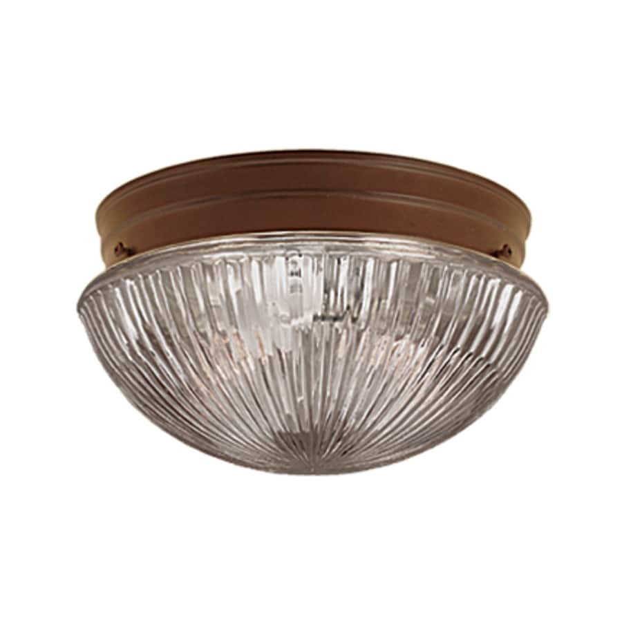 Millennium Lighting 7.5-in W Bronze Flush Mount Light