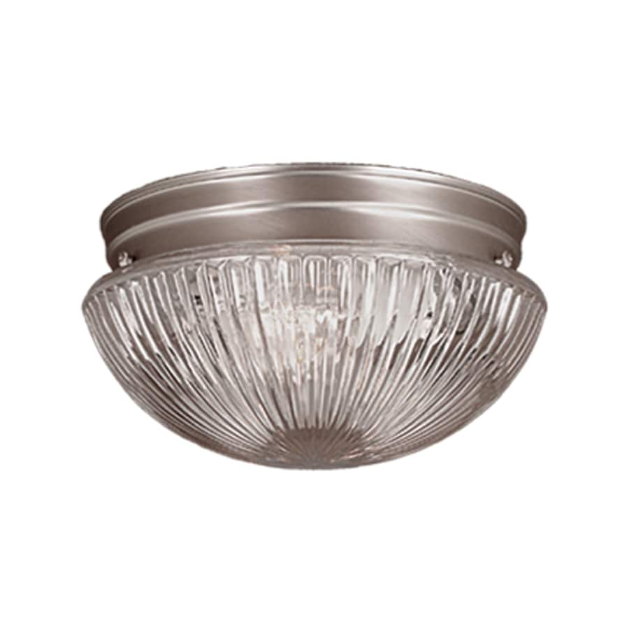 Millennium Lighting 9.5-in W Satin Nickel Ceiling Flush Mount Light