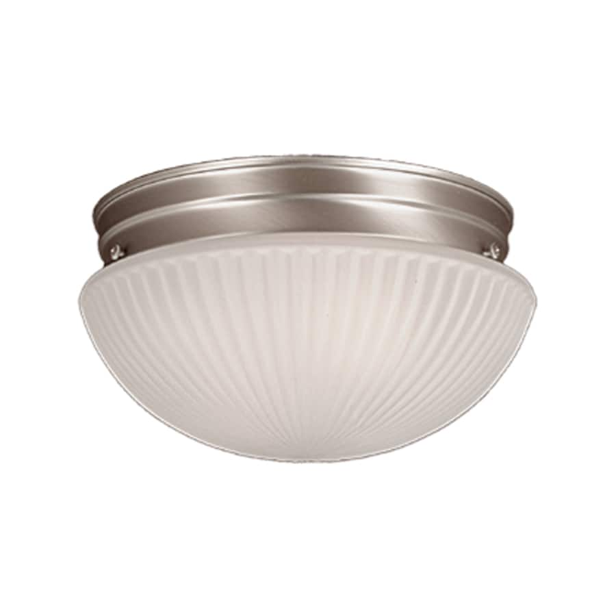 Millennium Lighting 7.5-in W Satin Nickel Ceiling Flush Mount Light