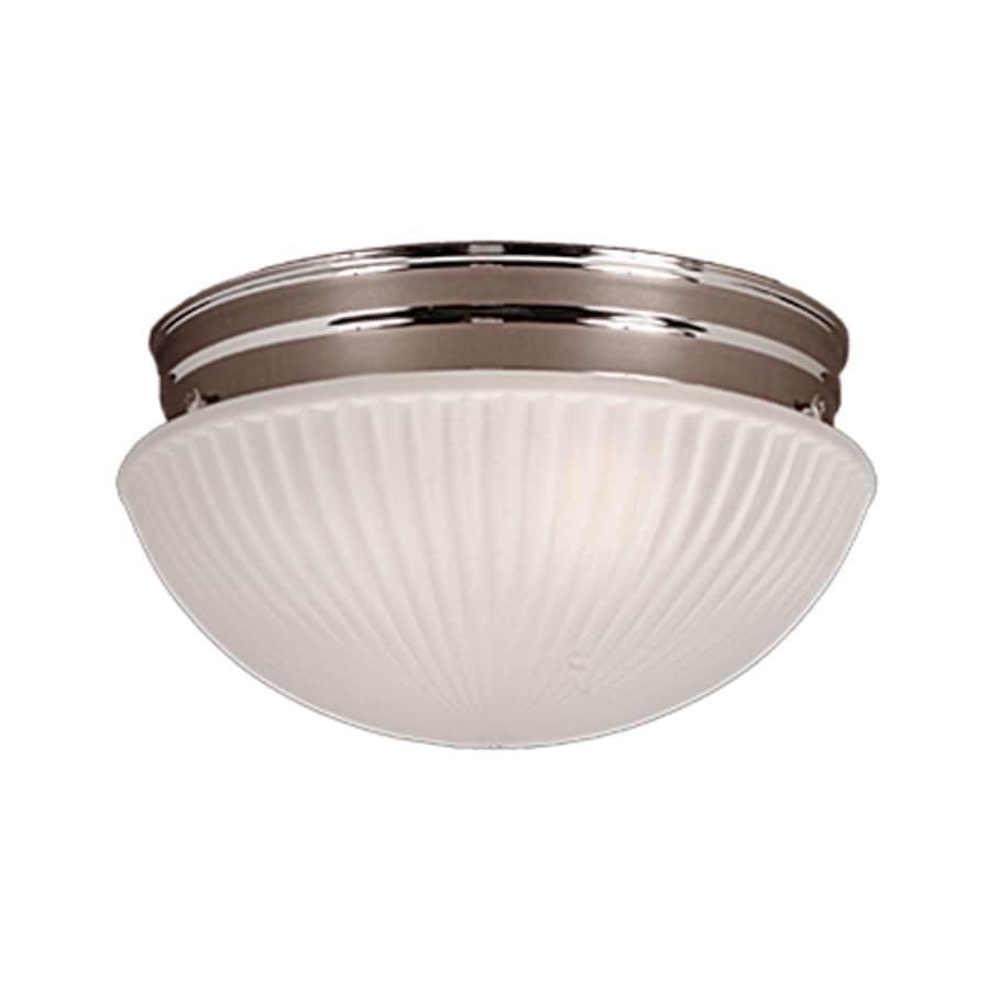 Millennium Lighting 9.5-in W Chrome Ceiling Flush Mount Light