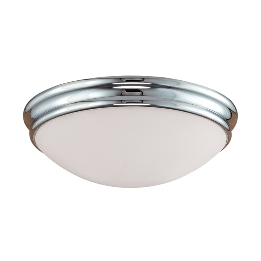 Millennium Lighting 14-in W Chrome Flush Mount Light