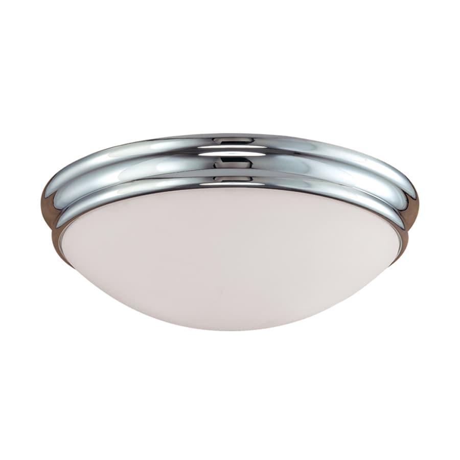 Millennium Lighting 14-in W Chrome  Standard Flush Mount Light