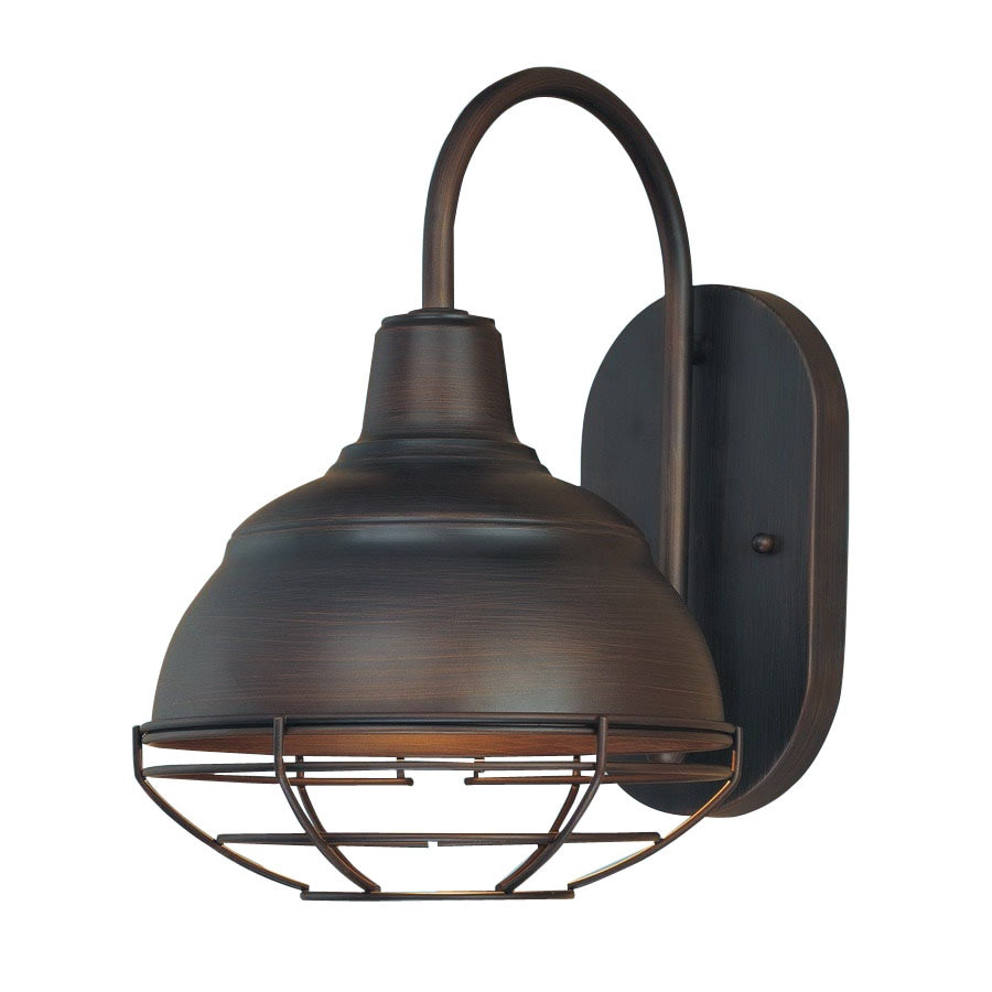 Millennium Lighting Neo Industrial 8 In W 1 Light Rubbed Bronze Vintage Arm