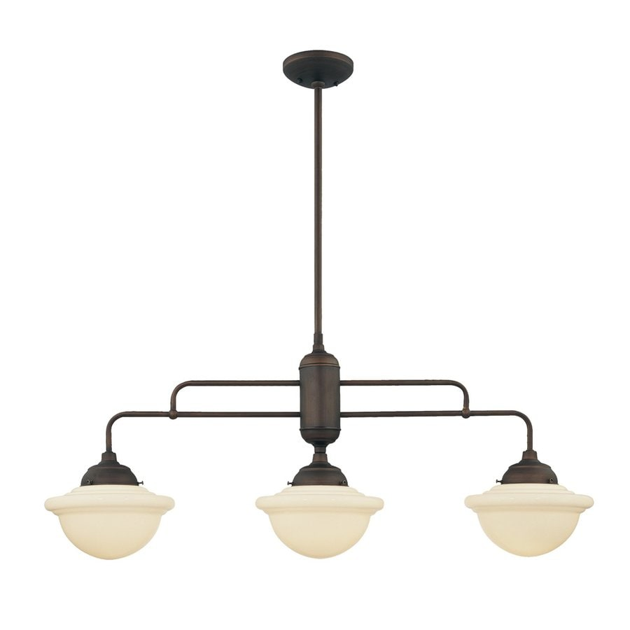 Oil Rubbed Bronze Kitchen Island Lighting Shop Millennium Lighting Neo Industrial W 3 Light Rubbed Bronze