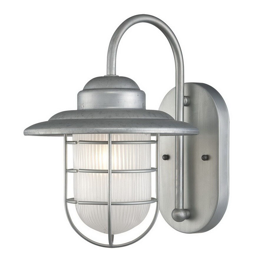 Millennium Lighting R Series 11-1/2-in Galvanized Outdoor Wall Light